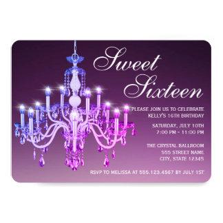 Cartão Doce Venetian elegante dezesseis do candelabro |