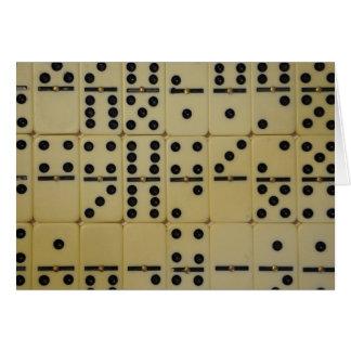 Cartão dominó