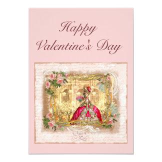 Cartão dos namorados de Marie Antoinette Convites Personalizados