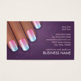 Cartão dos negócios & da nomeação de Ombre do Cartão De Visita