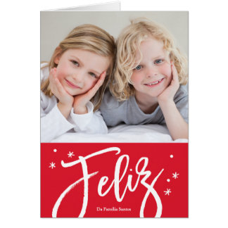 cartão dos português de de Natal do cartão
