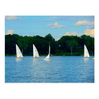 Cartão dos veleiros