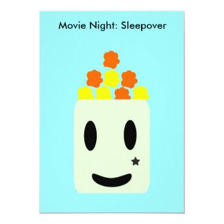 Cartão É noite de cinema toda a noite: Sleepover