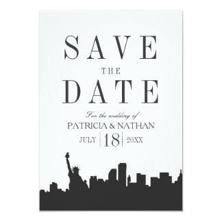 Cartão Economias clássicas mínimas do casamento de New