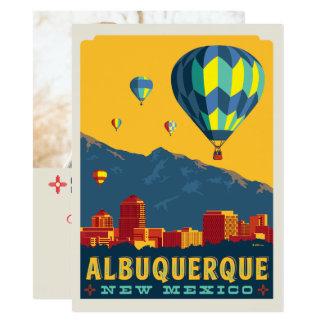 Cartão Economias de Albuquerque, New mexico | a data -