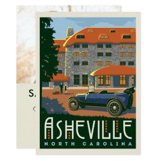 Cartão Economias de Asheville, North Carolina | a data -