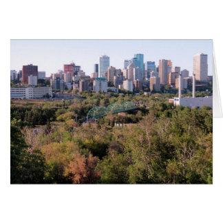 Cartão Edmonton, Alberta, Canadá