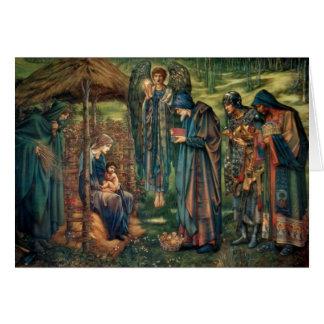 Cartão Edward Burne-Jones: Estrela de Bethlehem
