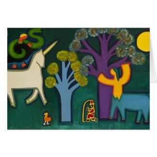 Cartão EL Bosque Magico de Lucas 2009