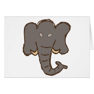 Cartão Elefante