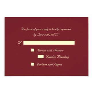 Cartão elegante personalizado do convite do