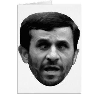 Cartão Eleição customizável de Mahmoud Ahmadinejad Irã