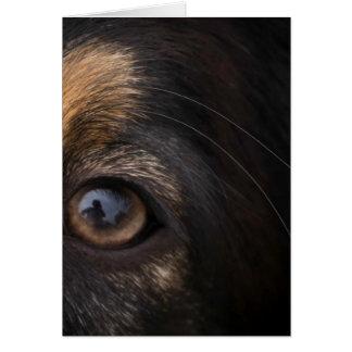 Cartão Em seus olhos