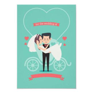 Cartão engraçado do convite do casamento