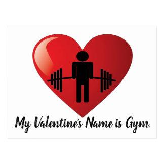 Cartão engraçado dos namorados do Gym da malhação
