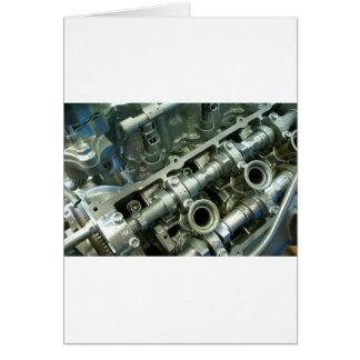 Cartão Entranhas do motor do motor