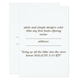 Cartão envelope branco padrão matte incluído