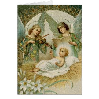 Cartão (escritura): 2:14 Gloria de Luke