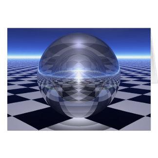Cartão Esferas do verificador