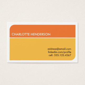 Cartão esperto alaranjado ensolarado do resumo do