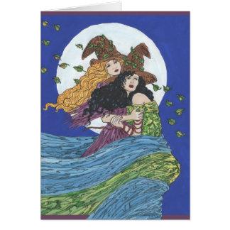 Cartão Estação da bruxa
