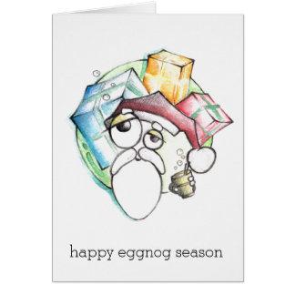 Cartão Estação feliz da gemada