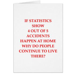 Cartão estatísticas