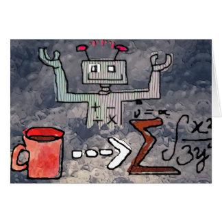 Cartão Estatísticas do robô