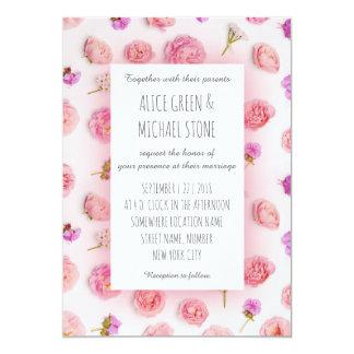 Cartão Estilo floral romântico