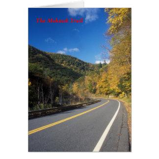 Cartão Estrada da fuga do Mohawk