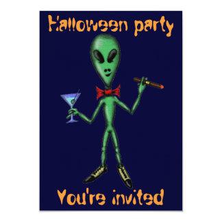 Cartão estrangeiro legal engraçado do convite de convite 12.7 x 17.78cm
