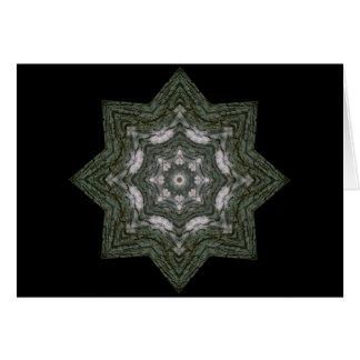 Cartão Estrela do latido de árvore