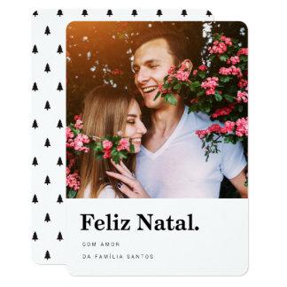 Cartão Estrelas natais dos comemorativos | Feliz de