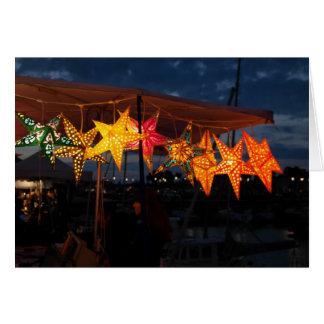 Cartão Estrelas no mercado