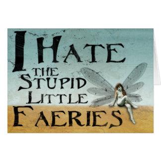 Cartão Eu deio os países das fadas de Stupidlittle