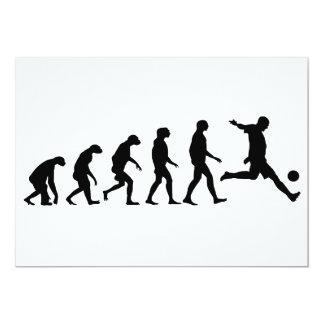 Cartão Evolução do futebol