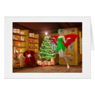Cartão Fada do Natal