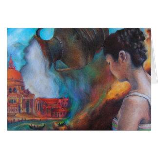 Cartão Fantasia Venetian