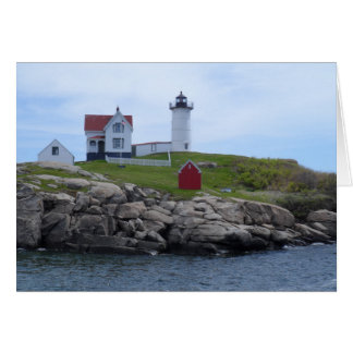 Cartão Farol do Nubble - Maine