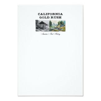 Cartão Febre do ouro de ABH Califórnia
