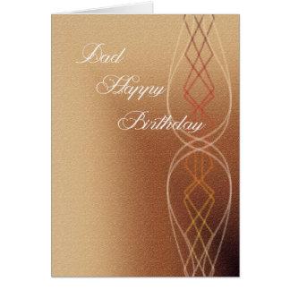Cartão Feliz aniversario do pai