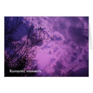 Cartão Feliz aniversario - momentos românticos