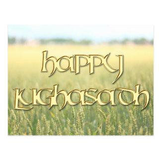 Cartão feliz de Lughnasadh
