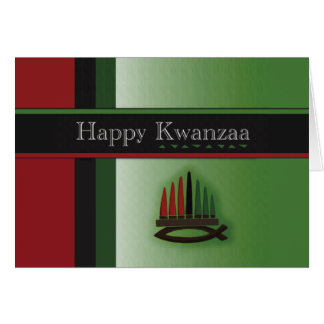 Cartão Feriado colorido Notecards de Kwanzaa