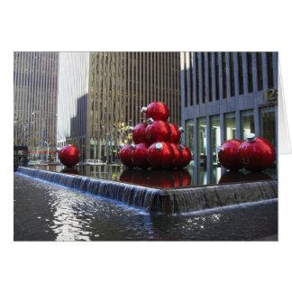 Cartão Feriado da Nova Iorque