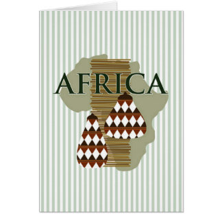 Cartão Feriado Notecards de Kwanzaa da história
