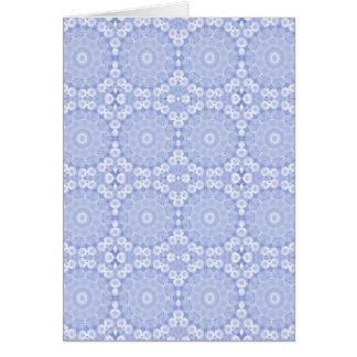 Cartão Festão azul