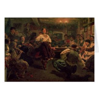 Cartão Festival do país, 1881