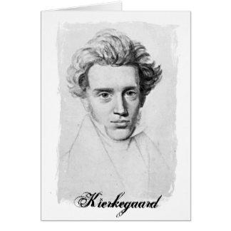 Cartão Filósofo Soren Kierkegaard