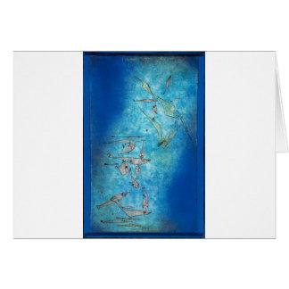 Cartão Fish Image - Paul Klee